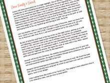 73 Create Christmas Card Letter Templates PSD File with Christmas Card Letter Templates