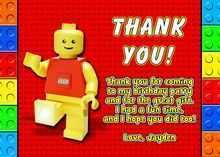 73 Create Lego Thank You Card Template by Lego Thank You Card Template