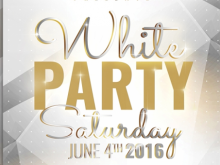 73 Creating All White Party Flyer Template Free Download with All White Party Flyer Template Free