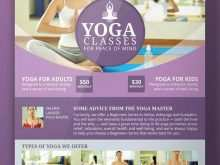 Yoga Flyer Design Templates