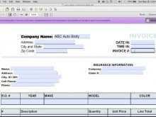 73 Creative Auto Repair Invoice Template Quickbooks Templates for Auto Repair Invoice Template Quickbooks