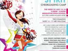 73 Creative Cheer Camp Flyer Template Maker for Cheer Camp Flyer Template