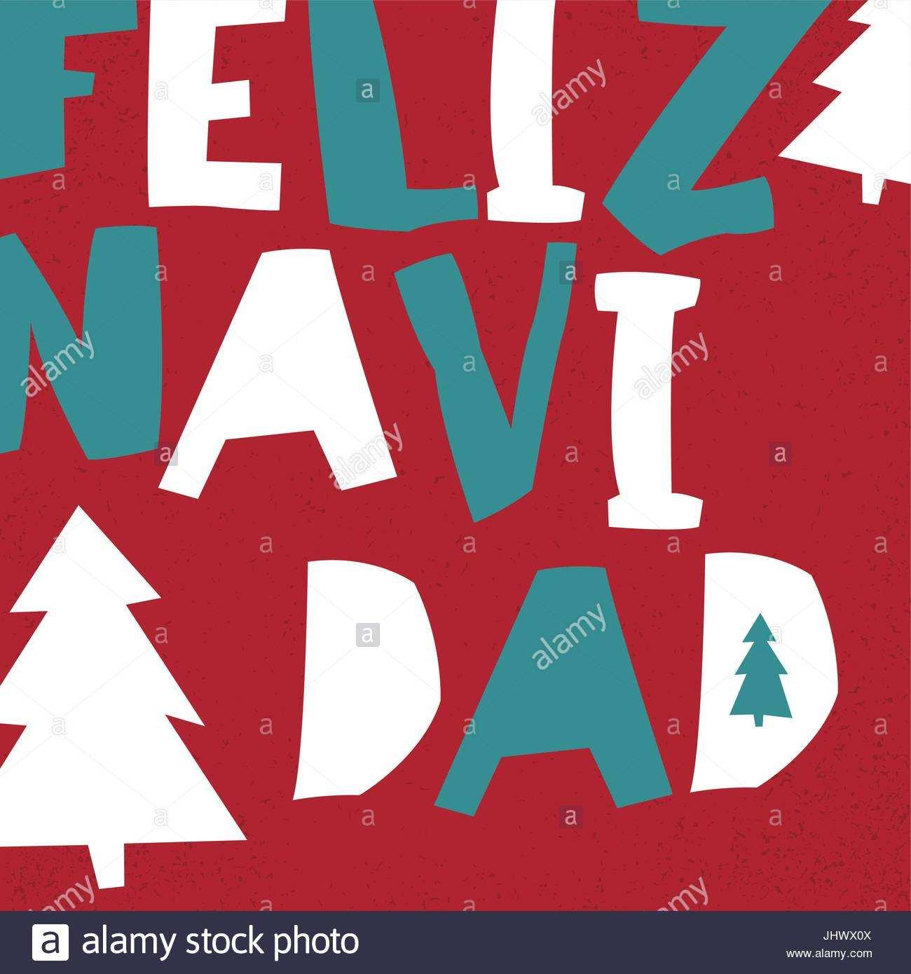 73 Creative Christmas Card Template In Spanish PSD File for Christmas Card Template In Spanish