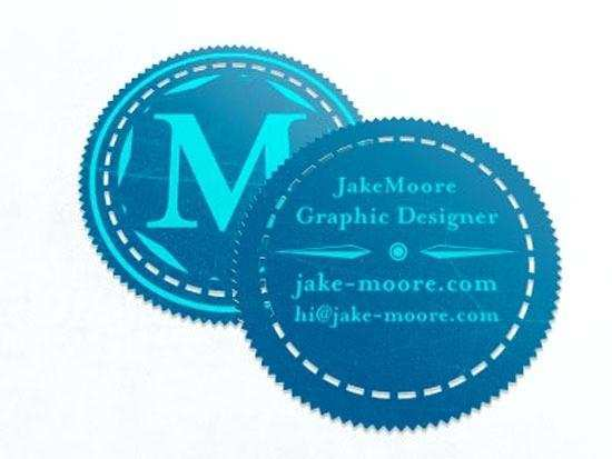 Circle Business Card Template Free Download