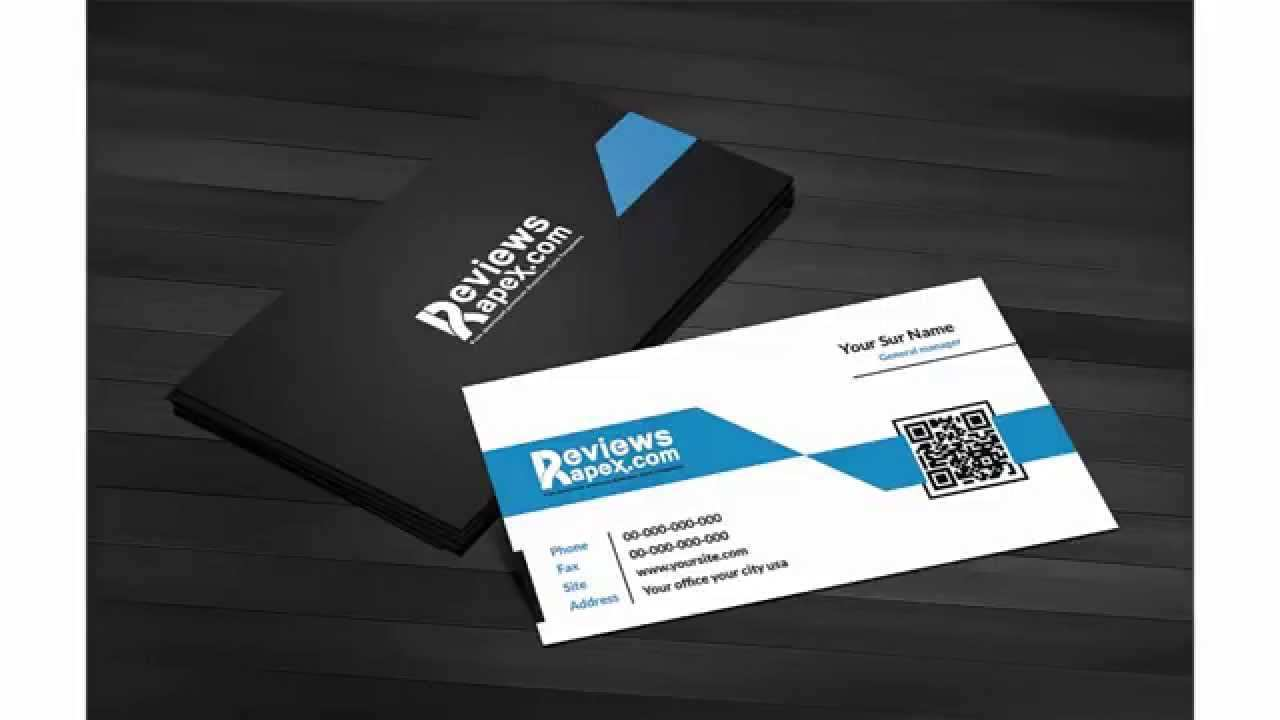73 Customize Business Card Templates With Qr Code With Stunning Design with Business Card Templates With Qr Code