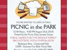 73 Customize Our Free Blank Picnic Flyer Template in Word for Blank Picnic Flyer Template