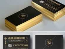 73 Customize Our Free Business Card Template Gold Free PSD File by Business Card Template Gold Free