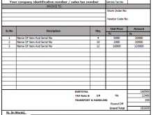 73 Customize Vat Invoice Format In Tally PSD File by Vat Invoice Format In Tally