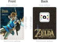 graphic relating to Printable Amiibo Cards called 66 Common Amiibo Card Template Zelda inside of Term by way of Amiibo