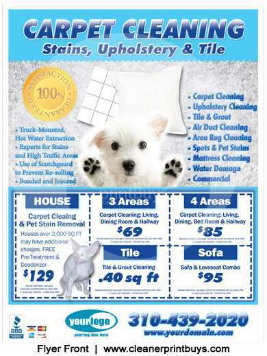 73 Format Carpet Cleaning Flyer Template Layouts by Carpet Cleaning Flyer Template
