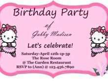 73 Free Hello Kitty Invitation Card Template Free in Photoshop by Hello Kitty Invitation Card Template Free