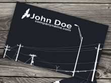 73 Online Business Cards Electrical Templates Free Download Formating with Business Cards Electrical Templates Free Download