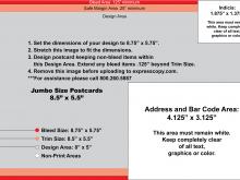 Usps Postcard Template 4.25 X 6