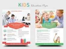 73 Printable Free Education Flyer Templates Maker for Free Education Flyer Templates