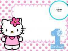 73 Printable Hello Kitty Invitation Card Template Free for Ms Word with Hello Kitty Invitation Card Template Free