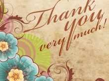 73 Printable Thank You Card Template Adobe Illustrator Now by Thank You Card Template Adobe Illustrator