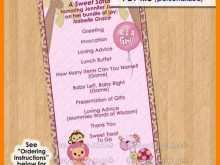 73 Report Baby Shower Agenda Example in Word with Baby Shower Agenda Example