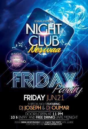 73 The Best Club Event Flyer Templates Formating by Club Event Flyer Templates