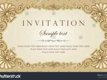 73 The Best Invitation Card Vector Sample Formating with Invitation Card Vector Sample