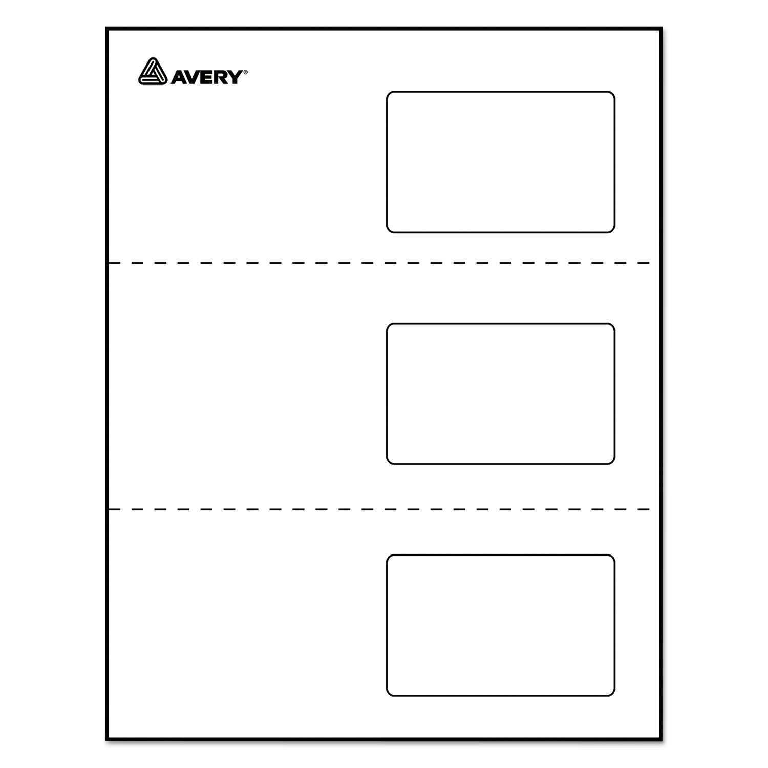 73 Visiting Avery Laminated Id Card Template in Word with Avery Laminated Id Card Template
