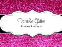 73 Visiting Business Card Template Girly with Business Card Template Girly
