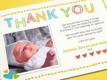 73 Visiting Christening Thank You Card Template Free Formating for Christening Thank You Card Template Free