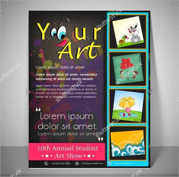 74 Art Flyer Template Templates with Art Flyer Template