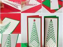 74 Best Christmas Card Tree Template Photo with Christmas Card Tree Template