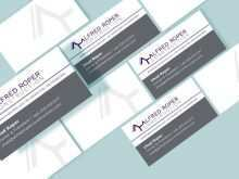 Free Construction Business Card Template Word