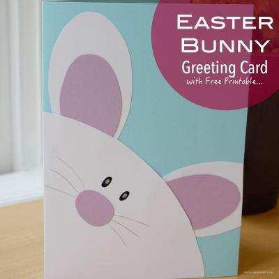 74 Create Free Easter Bunny Card Templates Photo by Free Easter Bunny Card Templates