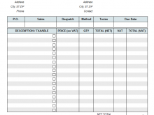 74 Creating Blank Gst Invoice Format In Excel Layouts with Blank Gst Invoice Format In Excel