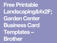 74 Creating Business Card Templates Brother Templates with Business Card Templates Brother