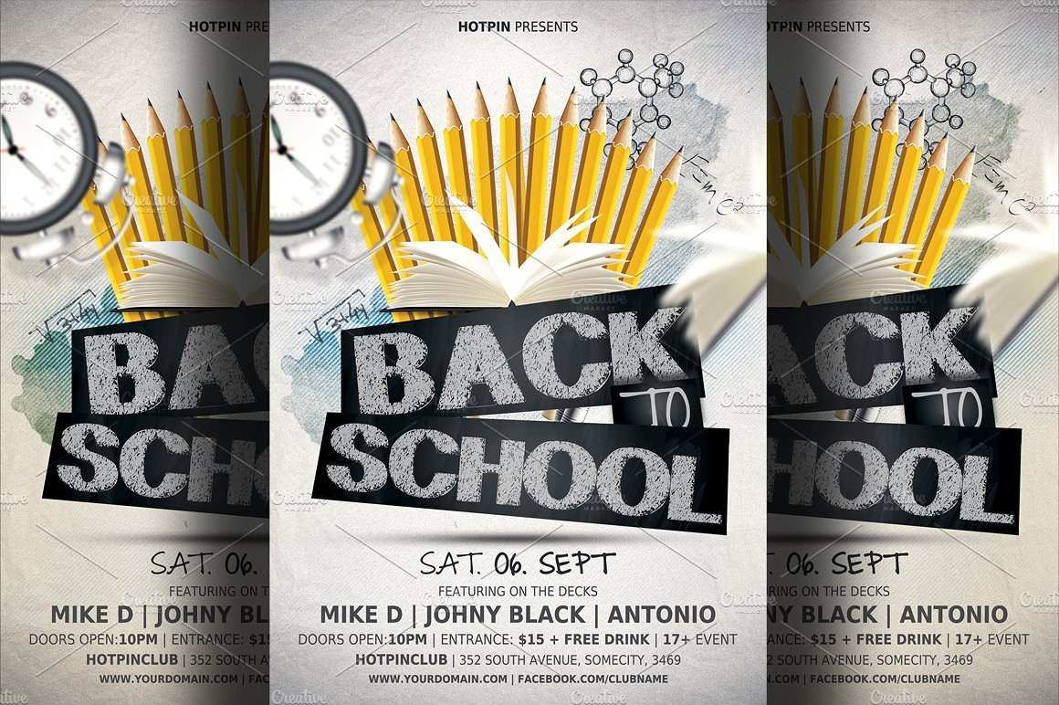 74 Creative Back To School Party Flyer Template Free Download Formating by Back To School Party Flyer Template Free Download