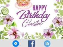 74 Customize Our Free Birthday Card Template App With Stunning Design for Birthday Card Template App