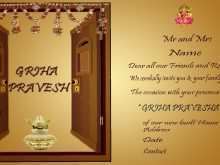 74 Customize Our Free Invitation Card Format For Griha Pravesh With Stunning Design by Invitation Card Format For Griha Pravesh