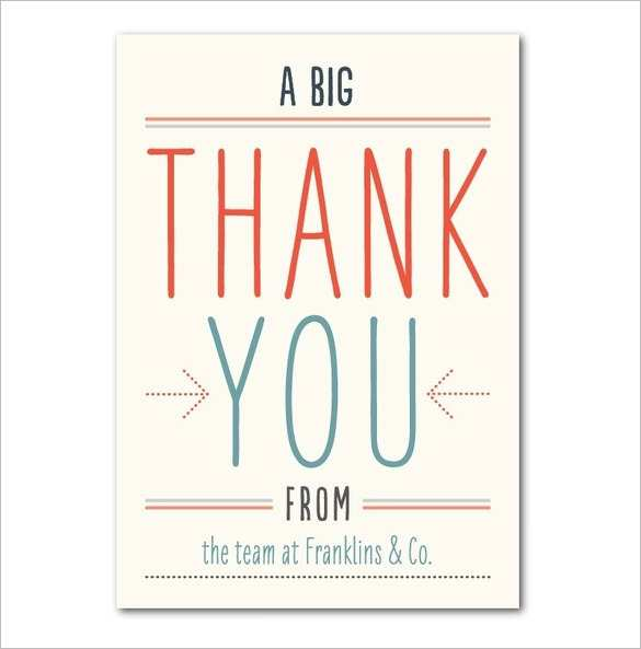 74 Customize Our Free Thank You Card Template Images Layouts with Thank You Card Template Images