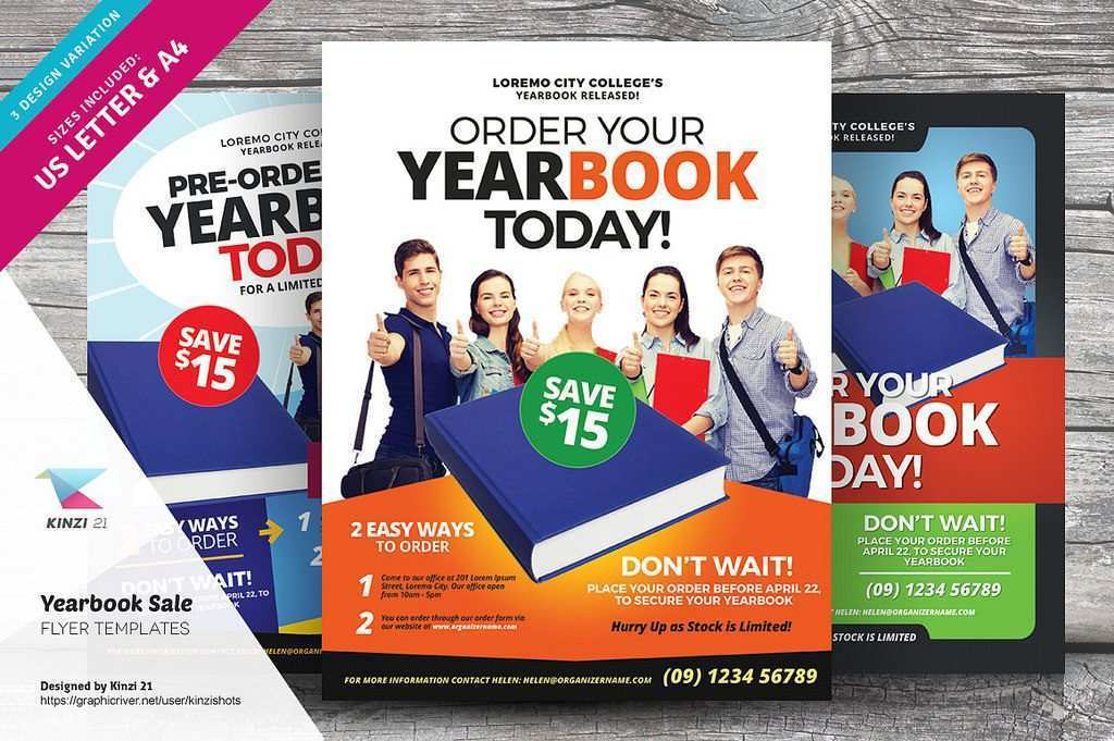 74 Customize Our Free Yearbook Flyer Template Formating by Yearbook Flyer Template