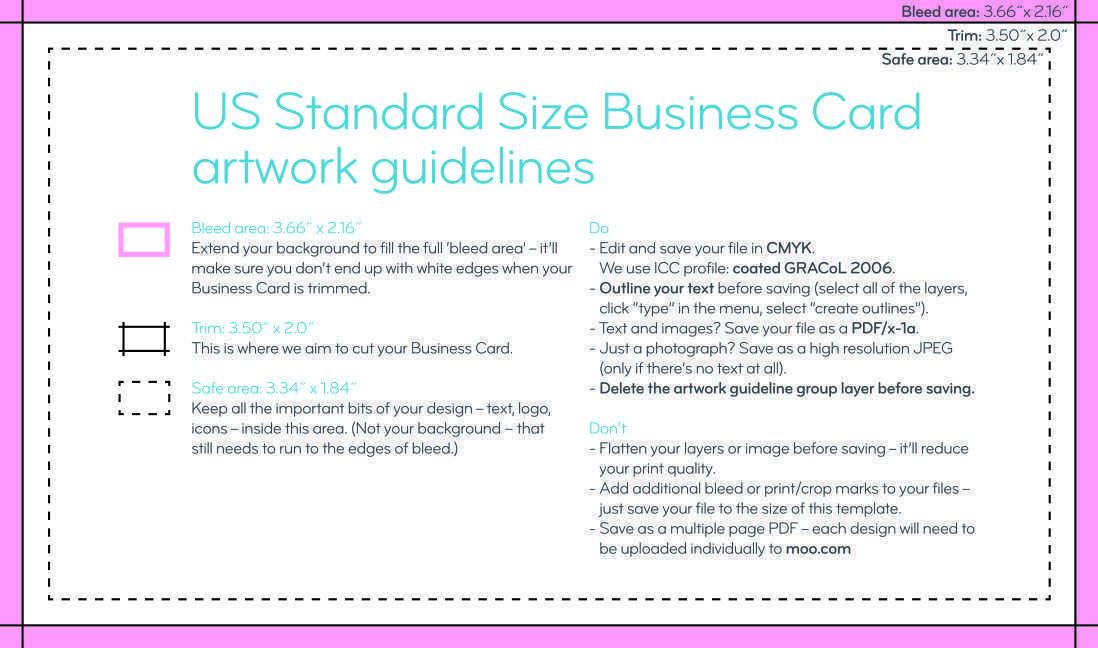 74 Format Adobe Illustrator Business Card Template With Bleed Templates for Adobe Illustrator Business Card Template With Bleed