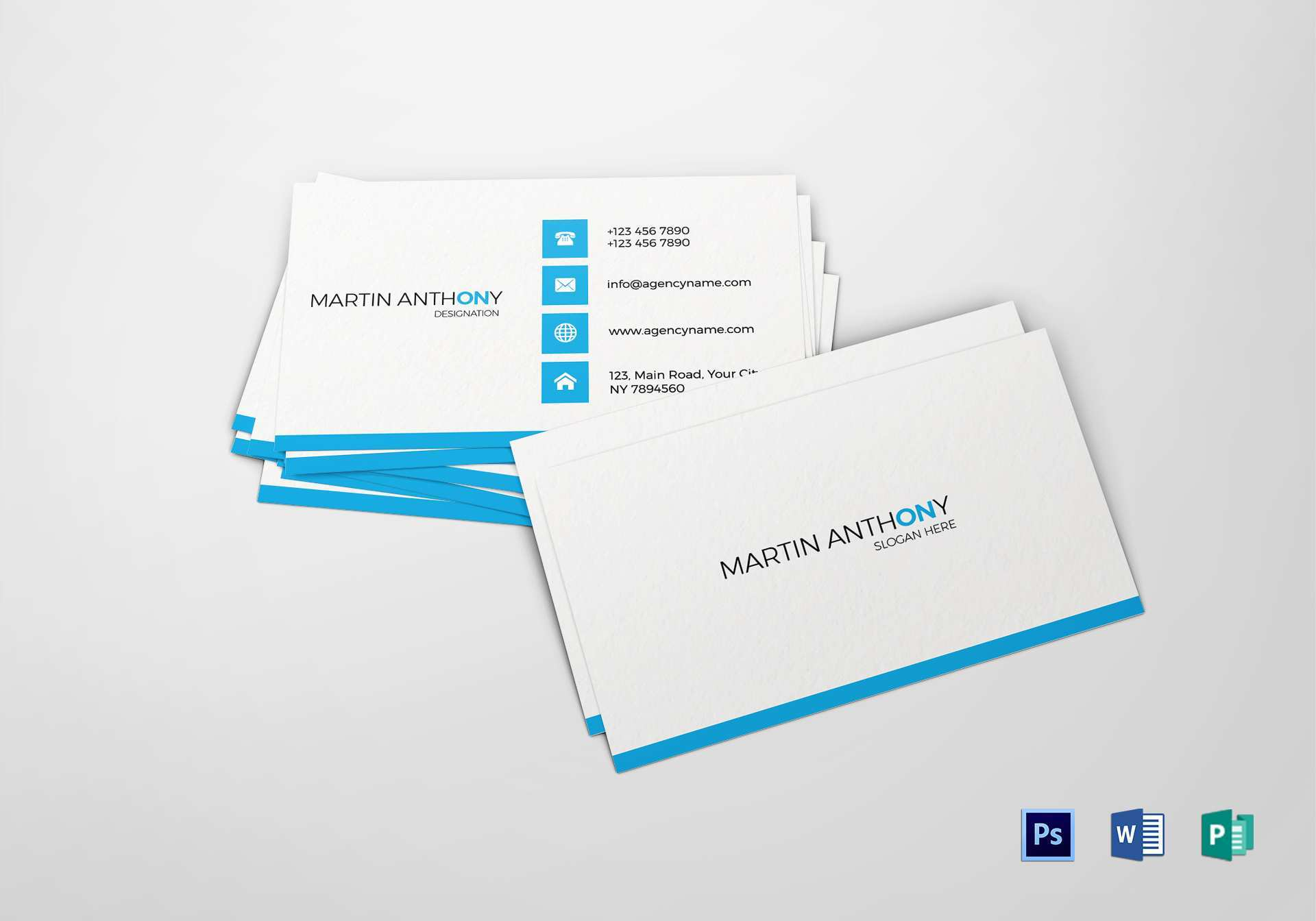 74 Format Business Card Design Template For Word Layouts for Business Card Design Template For Word