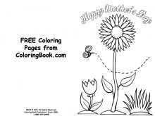 74 Format Mother S Day Card Templates To Color With Stunning Design with Mother S Day Card Templates To Color