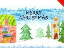74 Free Christmas Card Template Kindergarten With Stunning Design for Christmas Card Template Kindergarten