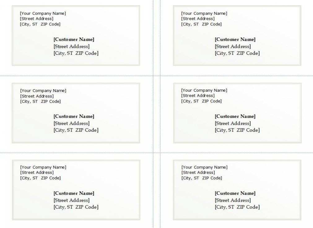 free business card templates google docs