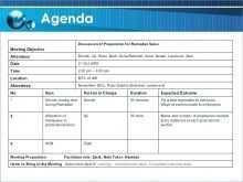 74 How To Create 30 Minute Meeting Agenda Template in Photoshop with 30 Minute Meeting Agenda Template