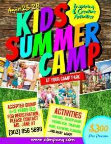 74 Online Camp Flyer Template Microsoft Word Layouts with Camp Flyer Template Microsoft Word