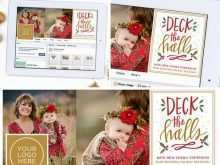 74 The Best Christmas Card Templates For Photographers Free Maker for Christmas Card Templates For Photographers Free