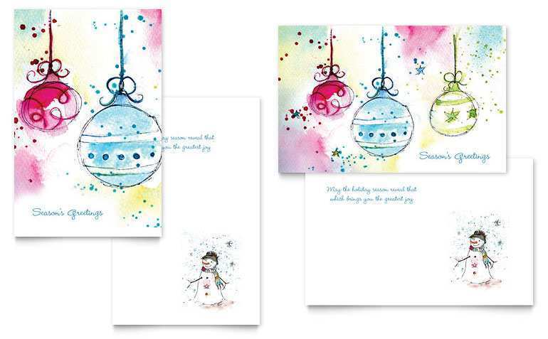 75 Adding Word Holiday Card Templates in Word by Word Holiday Card Templates