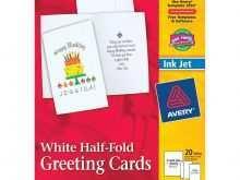 75 Best 1 2 Fold Birthday Card Template Templates with 1 2 Fold Birthday Card Template