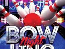 75 Best Bowling Flyer Template Free Photo with Bowling Flyer Template Free