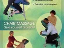 75 Best Chair Massage Flyer Templates by Chair Massage Flyer Templates