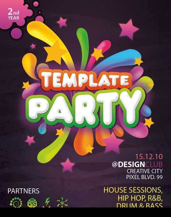 75 Best Free Birthday Flyer Template Word For Free for Free Birthday Flyer Template Word